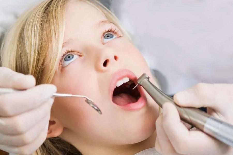Лечение каналов молочного зуба